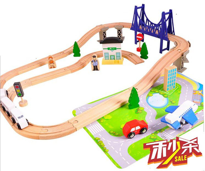 Wooden Train Sets for Kids