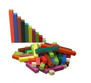 Wooden Math Rods, High Quality Math Wooden Rods, Hot Sale Wooden Math Toys