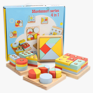 Montessori Kids Wooden Educational Toy