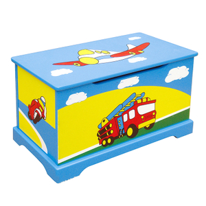 child wooden toy box