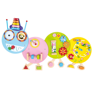 Wooden Caterpillar educational games toys