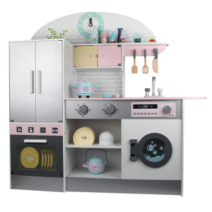 Wooden Pretend Play Kitchen Toys