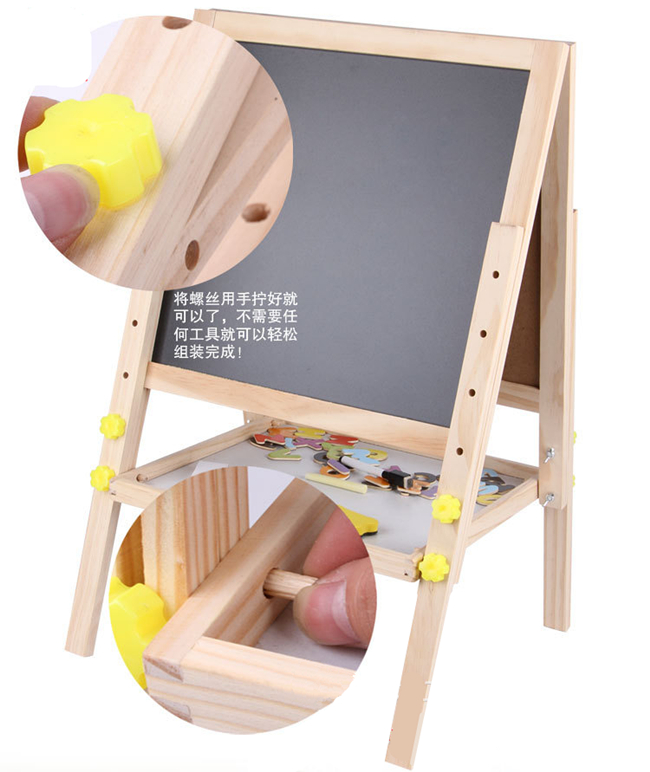 Wooden Kids Learning Easels