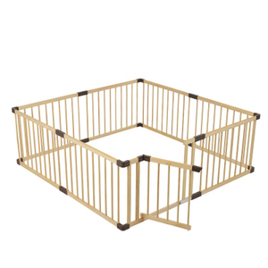 Safety Wooden Baby Playpen