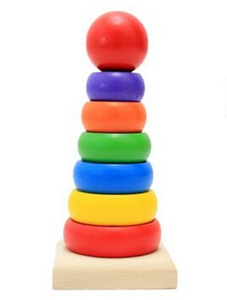 wooden stacking toys