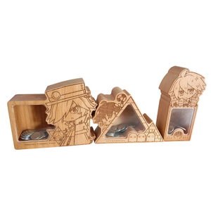 Cartoon Animal Wooden Money Box