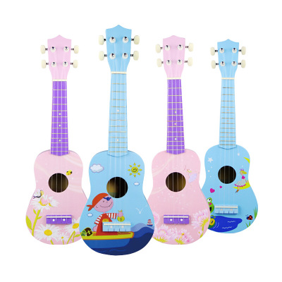 educational musical instrument toy wooden guitar