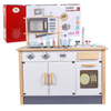 wooden cooking 3-6 years old toy Play house simulation Kitchenware Wooden kitchen toy
