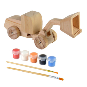 Diy Wooden Painting Assemble Toys