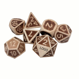 Manufacturers wholesale customized wood dice