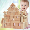 wooden barrel DIY building blocks