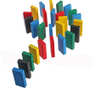 28 pieces wooden dominoes toys