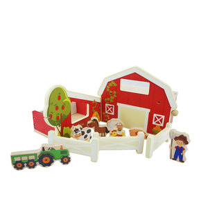 Children Educational Wooden Farm Toys