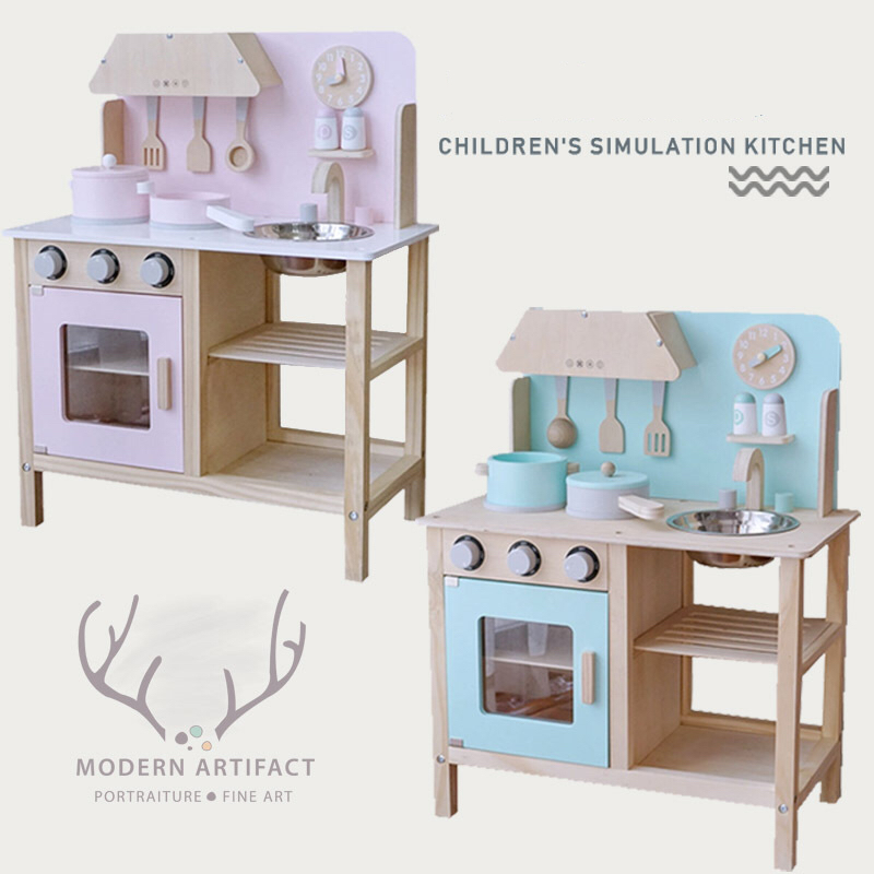 Wooden role Pretend Play Set Toys