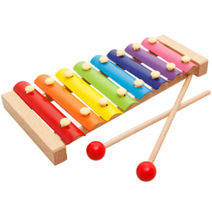 Baby Wooden 8 Tunes toy hitting musical toy