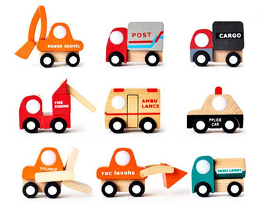 2014 Min Wooden Car Toys, Hot Sale Wooden Car