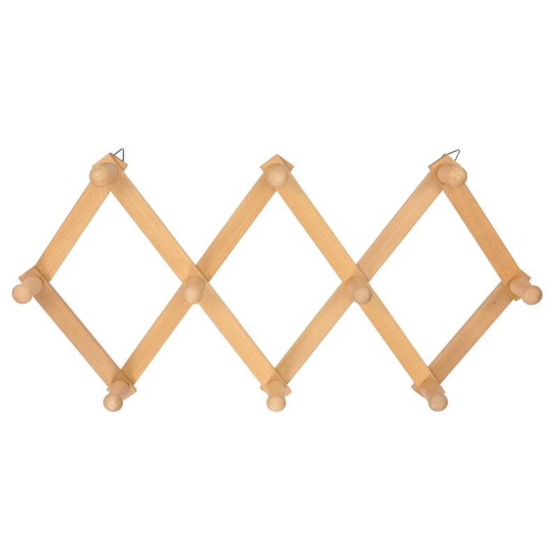 Wood Foldable Wall Mounted Organizer Hangers