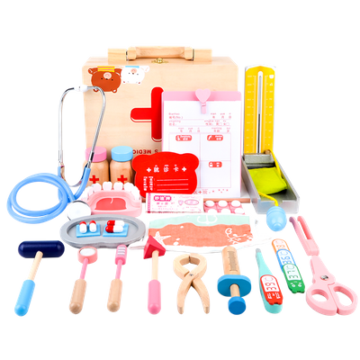 pretend play baby doll doctor set toy