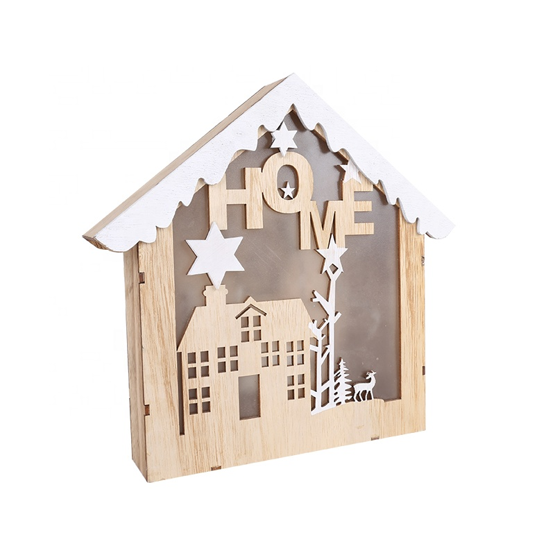 Christmas Decoration Supplies LED House