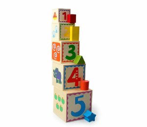 educational stacking blocks cube toys