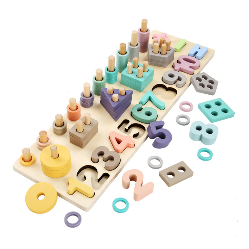 Wooden Educational Learning Math Toys