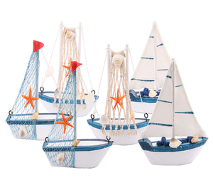 Cloth Mediterranean Boat Models