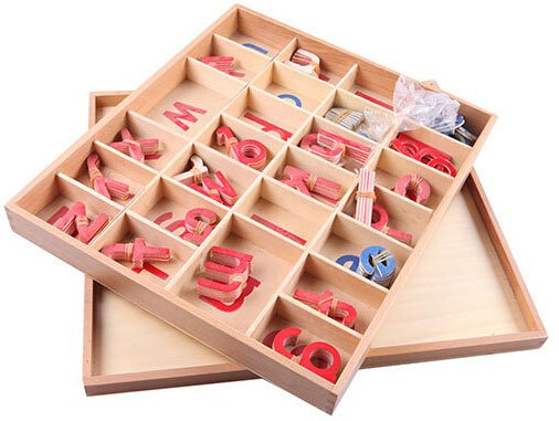 Language Montessori Material Toys