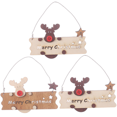 Christmas Decoration Letter Pendant
