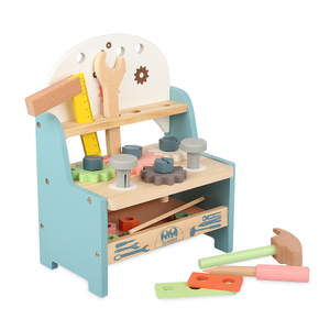 Kids Wooden Mini Tool Bench Toy