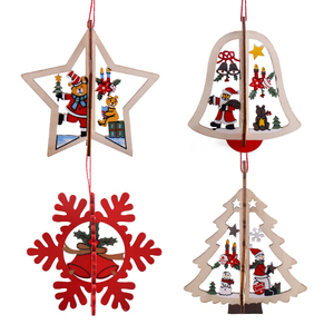 Christmas Tree decorations hanging ornaments
