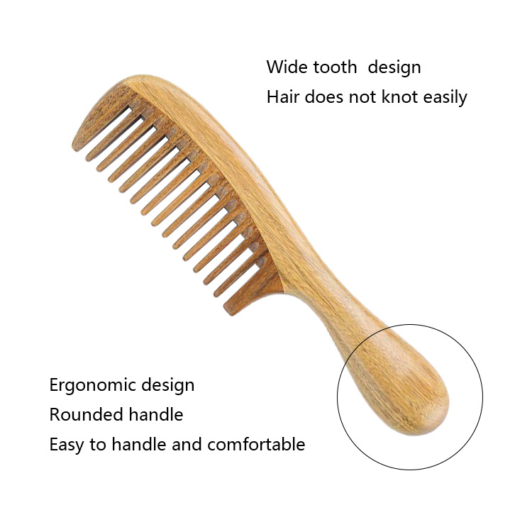 Hair Brush Wooden Comb